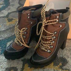 Public desire Dakota Lace up hiker boots
